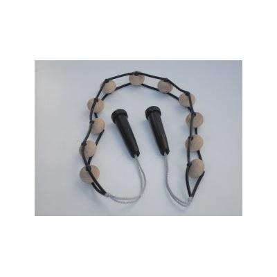 Kuličkový masážní pás, dřevo - Akura