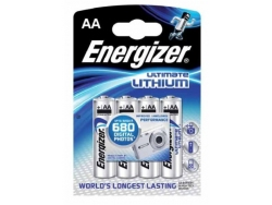 Baterie Energizer lithium ultimate AAA FR3 4ks