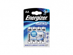 Baterie Energizer lithium ultimate AA FR6 4ks